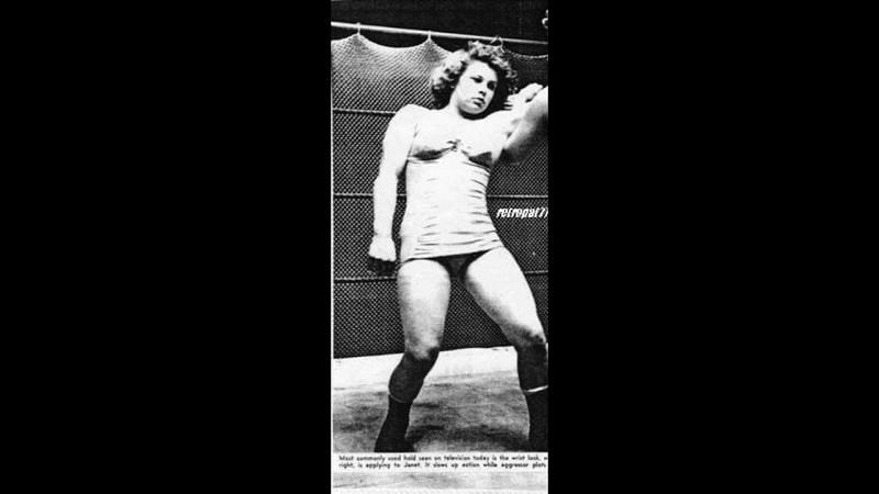 One of the first few women to lose their lives in the squared circle