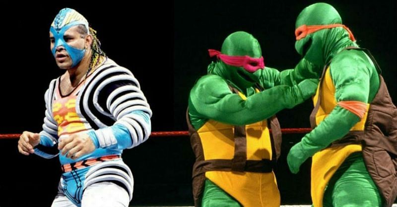 Wrestlers are free to choose varieties of outfits