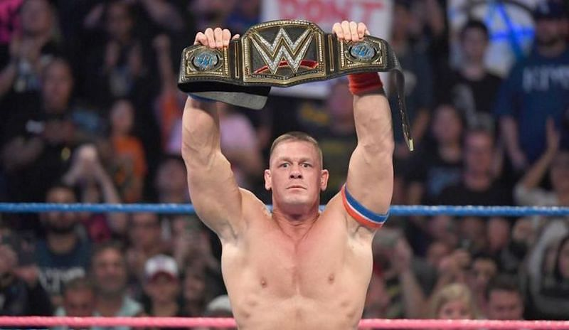 It took Cena just 3 minutes and 33 seconds to lose his eighth WWE Championship