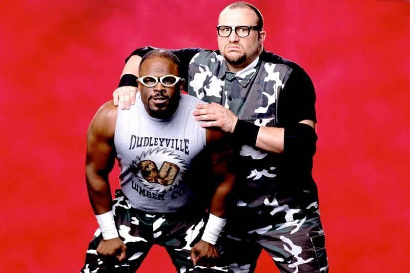 The hardcore loving Dudley Boys