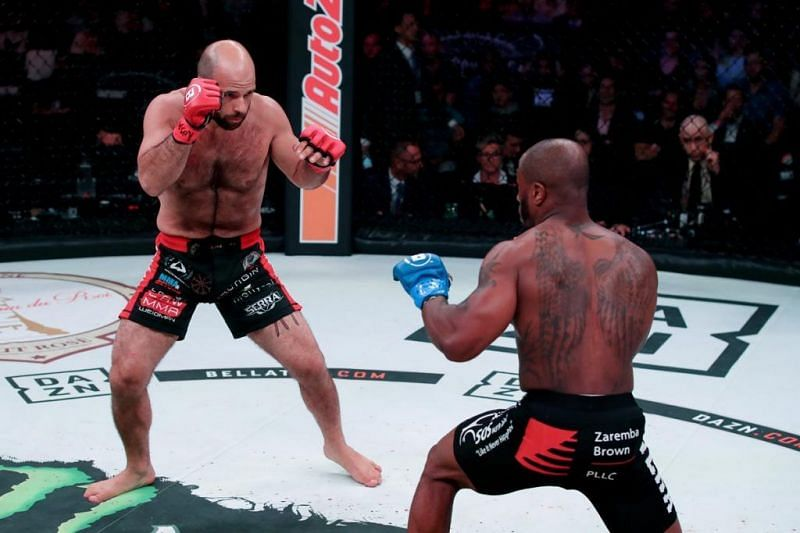 You can't go beyond the line in MMA