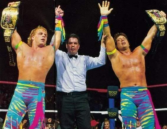 The Rockers shook the WWE universe