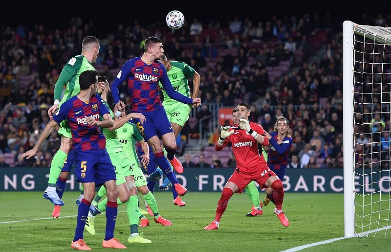 Lenglet doesn't score enough, but enjoyed a solid all-round display topped off with this first-half header