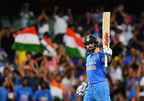 India vs Australia 2020: Virat Kohli fastest to score 5,000 ODI runs as captain