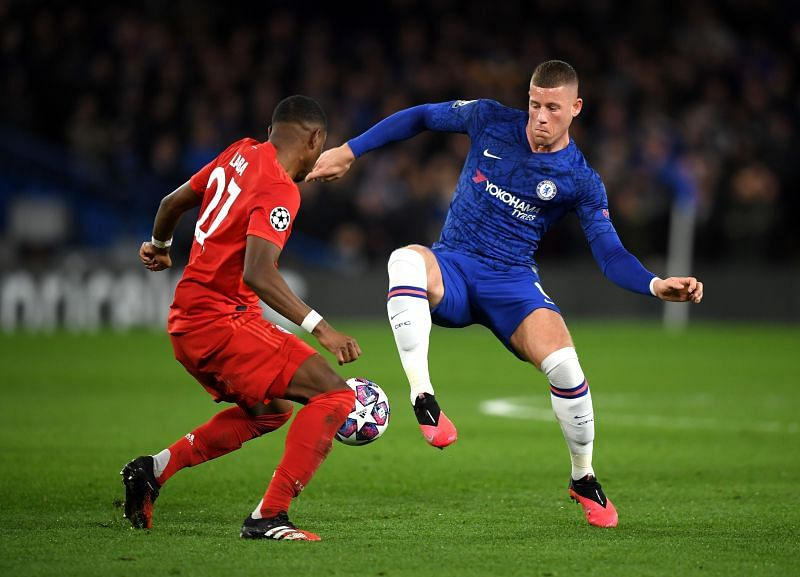 Frustrating night for Barkley, who was starved of regular possession and struggled to be progressive with it