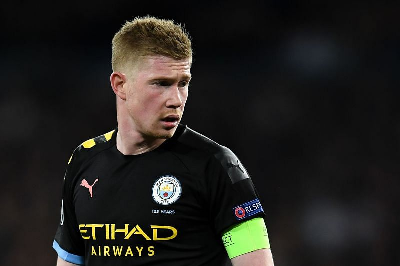 Captain fantastic: de Bruyne led by example as City came back from a goal down to prevail against the odds
