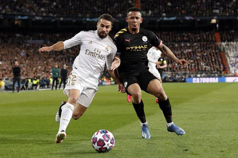 Carvajal struggled on a night where his concentration, discipline and defensive abilities were needed most