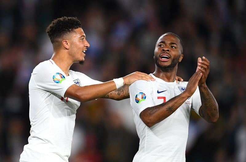 Jadon Sancho and Raheem Sterling - two of England's best - could be destined for big moves this summer
