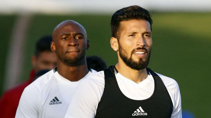 Valencia's duo Eliaquim Mangala and Ezequiel Garay were among 5 people at Valencia who tested positive.