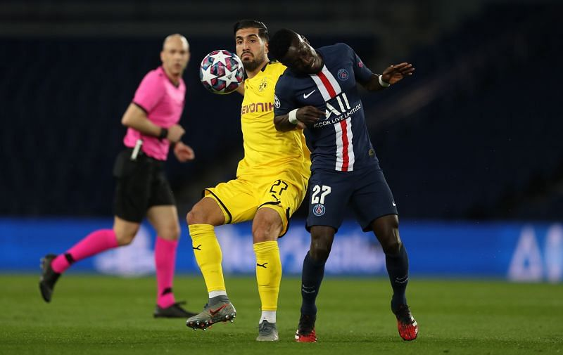 In Verratti's absence, Gueye picked up the slack and left Dortmund midfielders continually frustrated