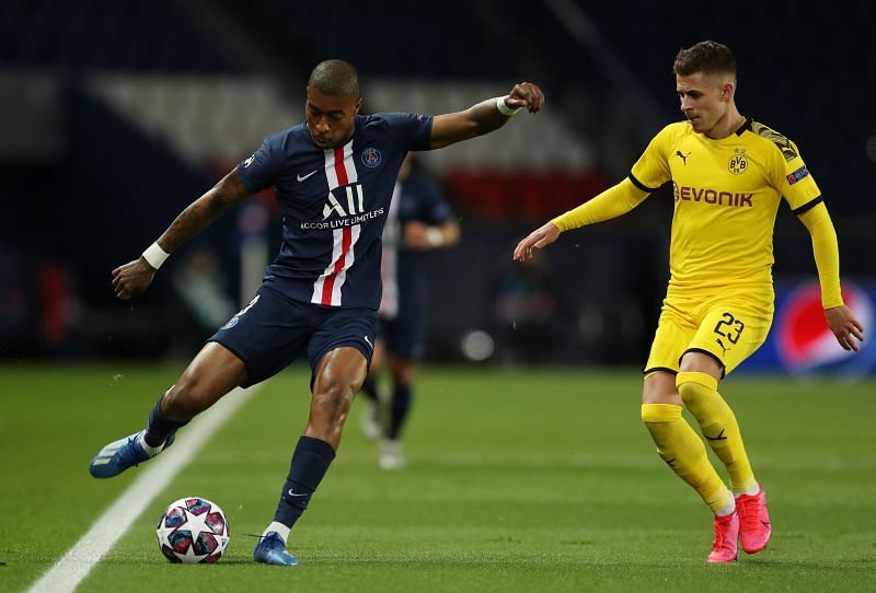 Dortmund made a mistake allowing Kimpembe to get settled in the early exchanges, as they soon found out