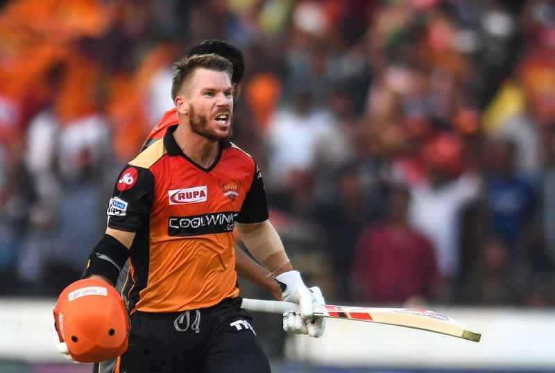 Warner aggregated 692 runs in the 12th edition of the IPL.