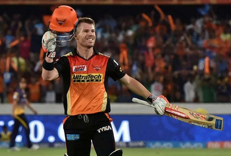 Warner was the stand out batsman of the 2017 edition of the IPL.