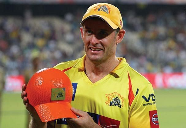 Mike Hussey won the Orange Cap in the 2013 edition