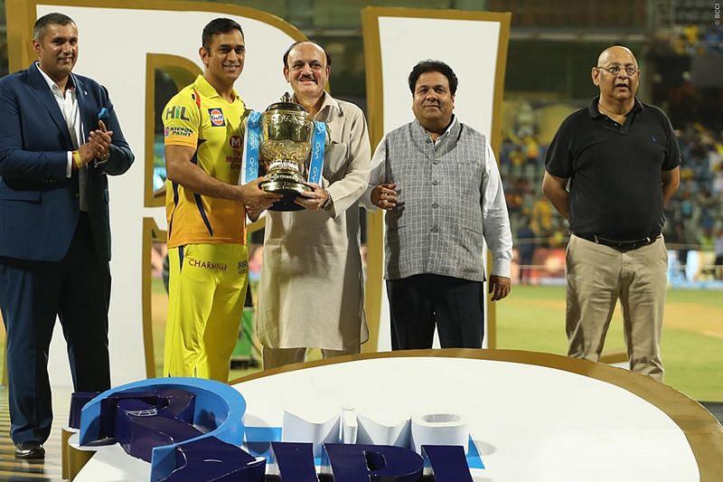 Dhoni in IPL 2018
