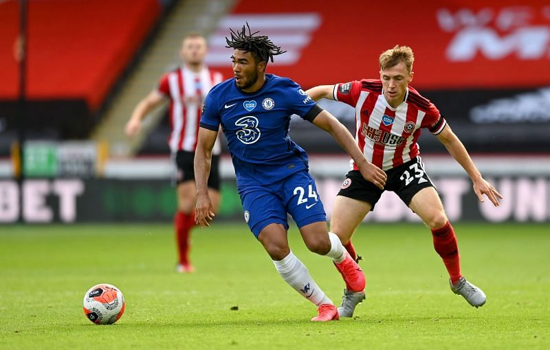 Reece James was one of few encouraging performers during a forgettable Chelsea display here