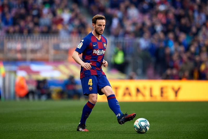 Barcelona's Rakitic was composed in possession, dependable and didn't shy away from responsibility