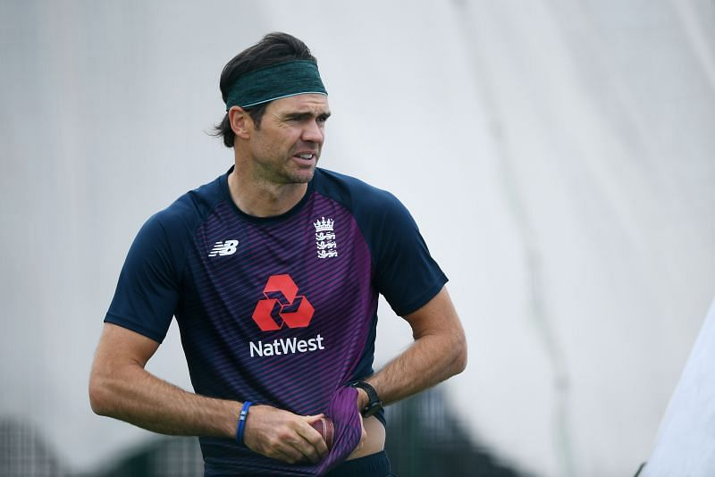 James Anderson is still going strong.