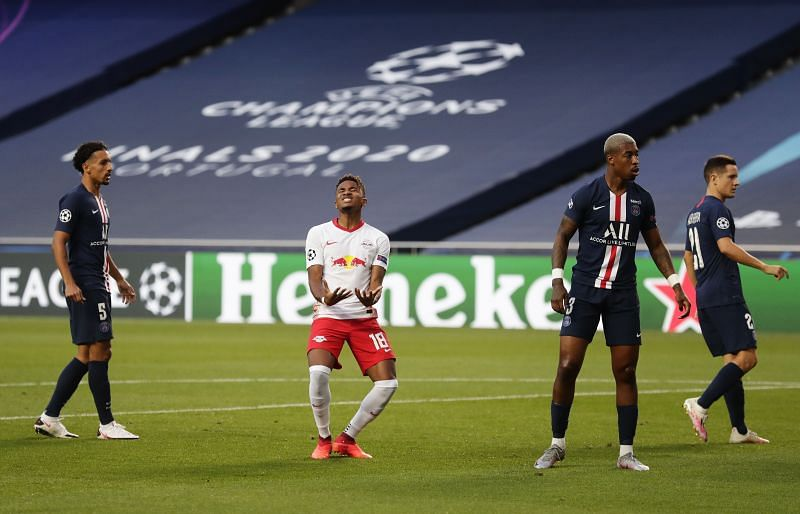Nkunku had a golden opportunity to haunt PSG, where he was a player for three years, but was frustrating