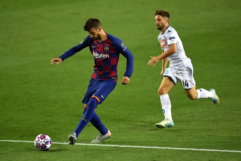Pique was quietly his dependable self for Barcelona as they survived Napoli's second-half onslaught