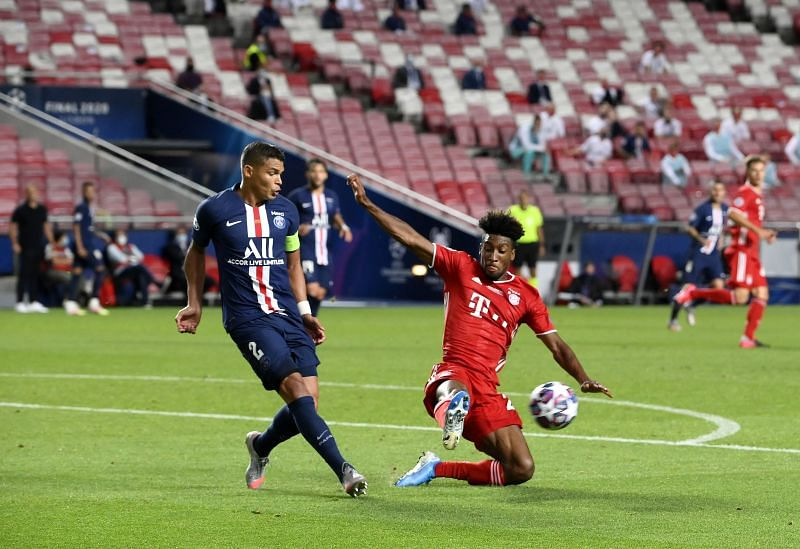 Thiago Silva was composed in possession, busy defensively but didn't panic against a persistent Bayern