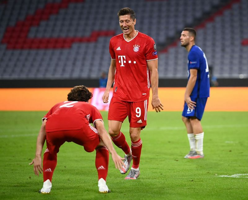Barcelona have a difficult task up next against the world's best striker in Robert Lewandowski and Bayern