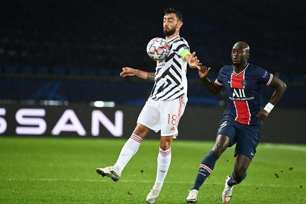 Pereira was the best of PSG's midfield, but unable to stifle Manchester United as he would have wanted