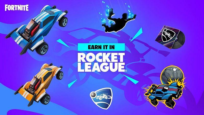 Fortnite community members make Rocket League game mode