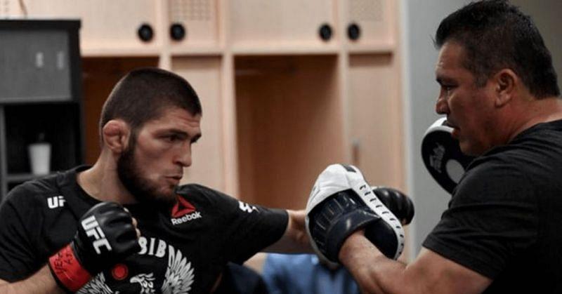 Khabib Nurmagomedov pays heartfelt tribute to his coach after UFC 254 retirement