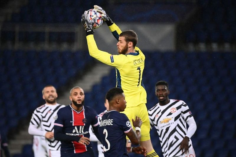 de Gea won the battle of the goalkeepers as Manchester United earned a hard-fought 2-1 victory in Paris