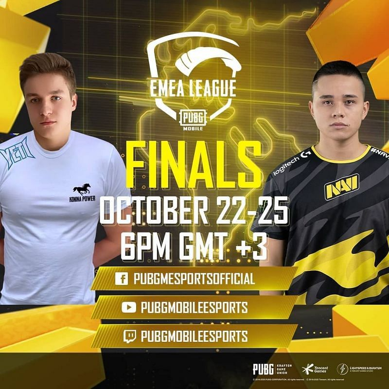 PUBG Mobile: Konina Power dominates on Day 1 of the EMEA League Grand Finals