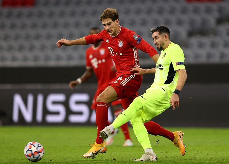 Goretzka made his presence felt against Atletico, wtihout needing to defend for sustained periods