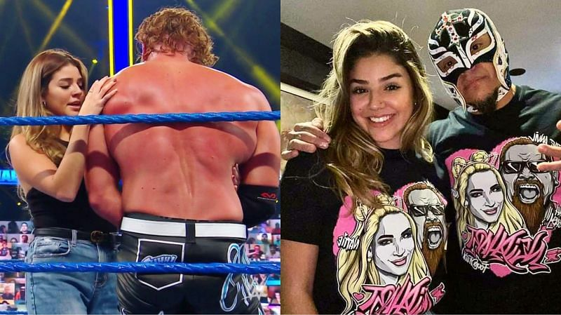 Rey Mysterio talks about growing tension in his relationship with Aalyah in WWE