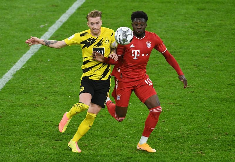 Reus never stopped running and didn't shy away from his defensive work either, during an admirable display