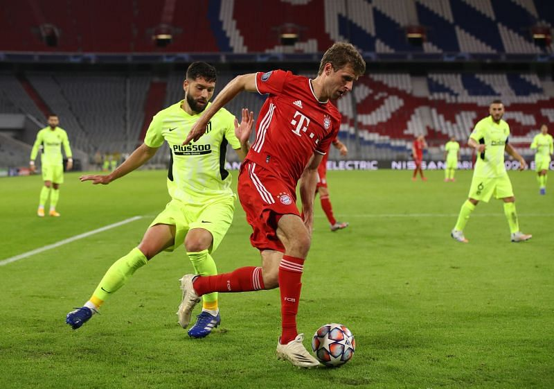 Muller created chances for Bayern but equally squandered promising moments with his decision-making