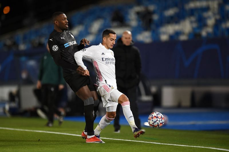 Vazquez didn't shy away from his defensive duties, despite an impressive creative showing for Real