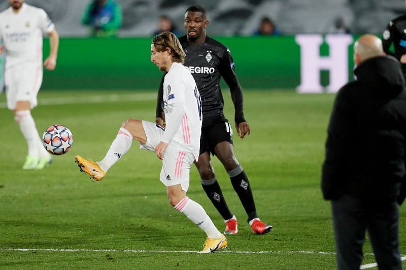 Modric was quietly influential in Real's midfield and was unlucky not to have two goals for his troubles