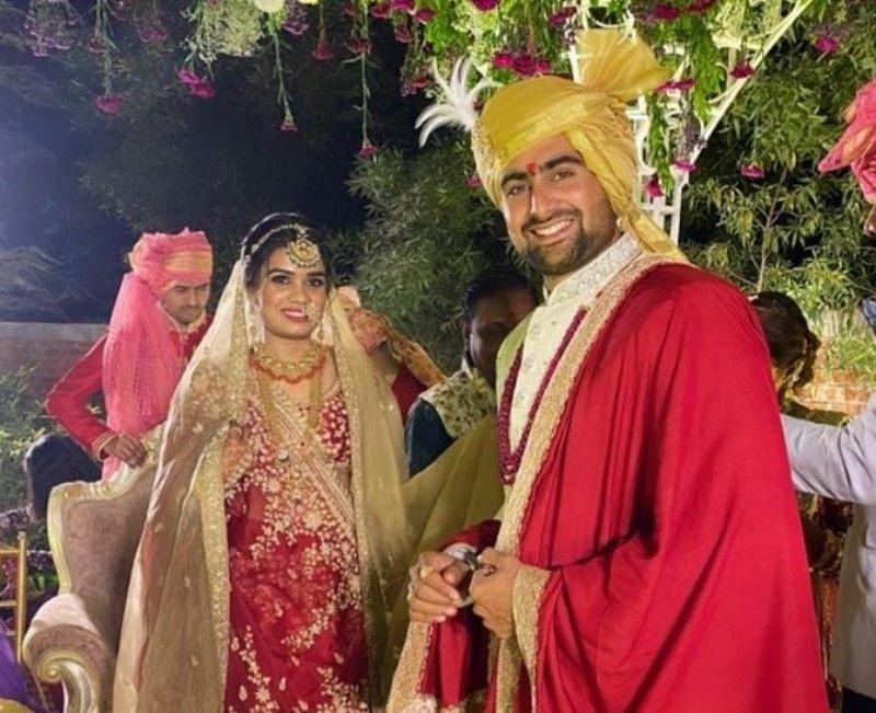 Indian kabaddi star Rahul Chaudhari ties the knot with girlfriend Hetali Brahmbhatt
