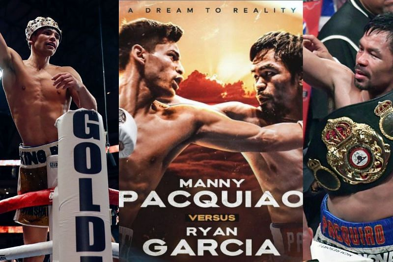 Conor McGregor vs Manny Pacquiao off the table as Ryan Garcia announces he's fighting the Filipino boxing legend next