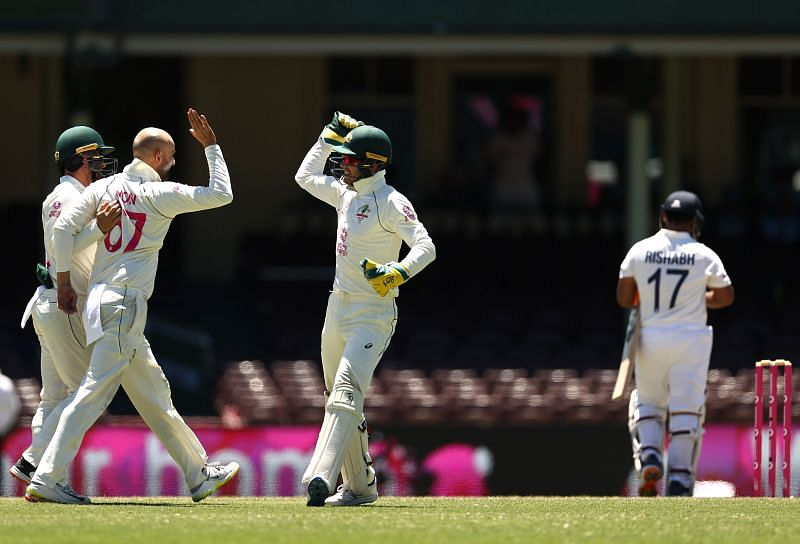 Injury-ridden India keep hopes alive, Australia 5 wickets away from famous win at tea