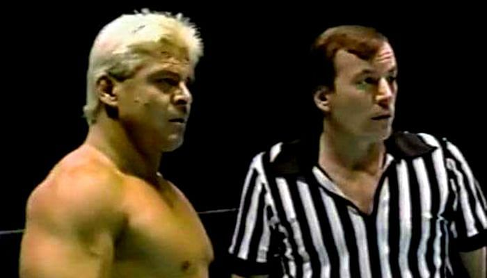 Tommy Young was the official on hand when Ronnie Garvin pinned Ric Flair to win the World Heavyweight title