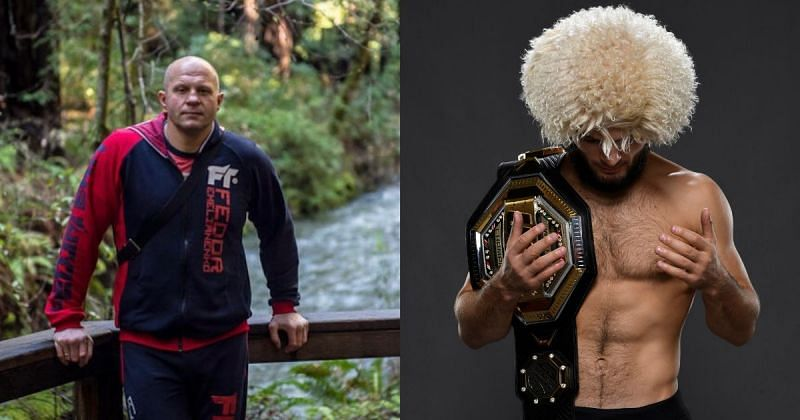 Fedor Emelianenko reacts to Khabib Nurmagomedov's controversial comments about ring girls
