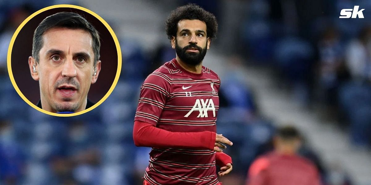"""""""I don't think Mohamed Salah will stay for the rest of his career"""" - Gary Neville names 3 clubs Liverpool superstar could join"""