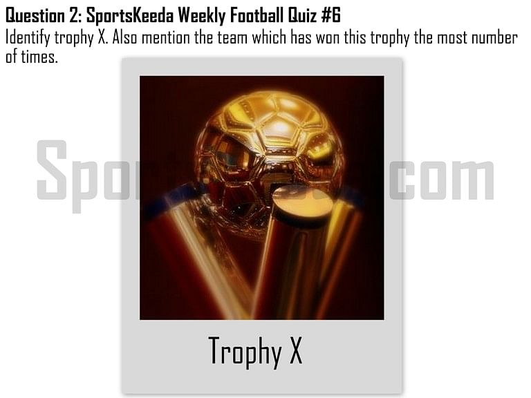 SportsKeeda Weekly Football Quiz #6