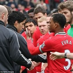 Evra refused or Suarez refused ?