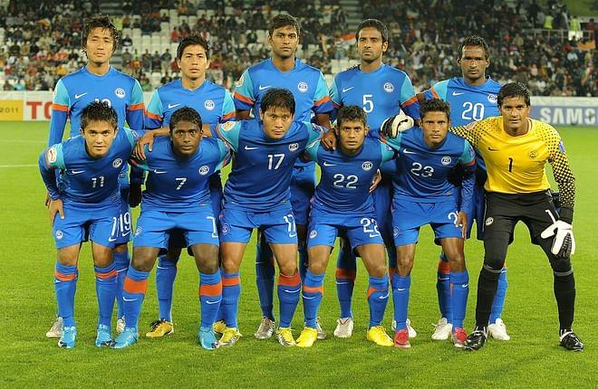 2012 AFC Challenge Cup : India vs Tajikistan