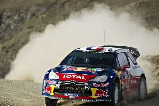 Loeb takes sixth successive Mexico victory