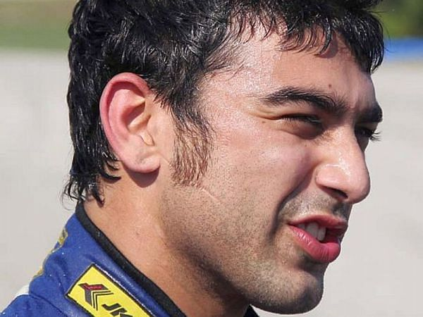 Armaan Ebrahim FIA GT Series Podium for Armaan and team