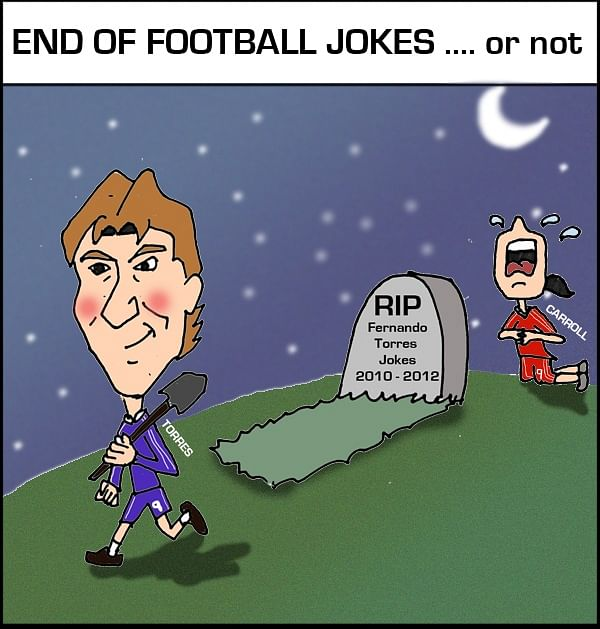 Comic The End Of Football Jokes Or Not