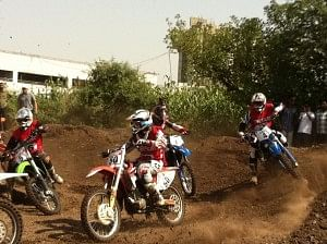 MRF National Supercross 2012 Pune